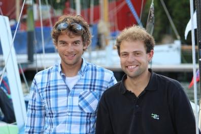 Gwénolé et Arthur