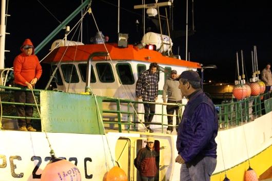 Arrivée de Gwénolé à Peniche, à bord de Jamaica