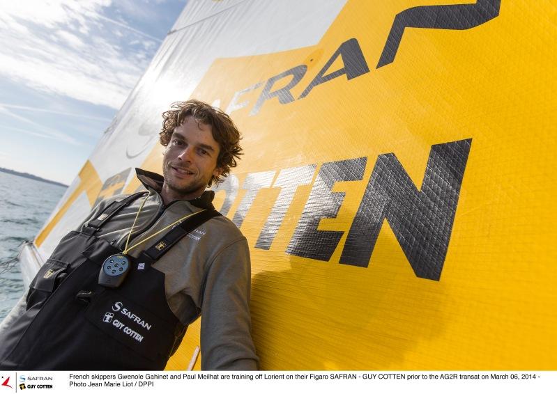 Gwenolé Gahinet Navigateur Source : Safran Sailing Team